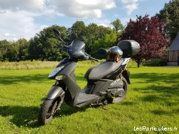 scooter 125 kymco city noir vehicules scooters seine-maritime