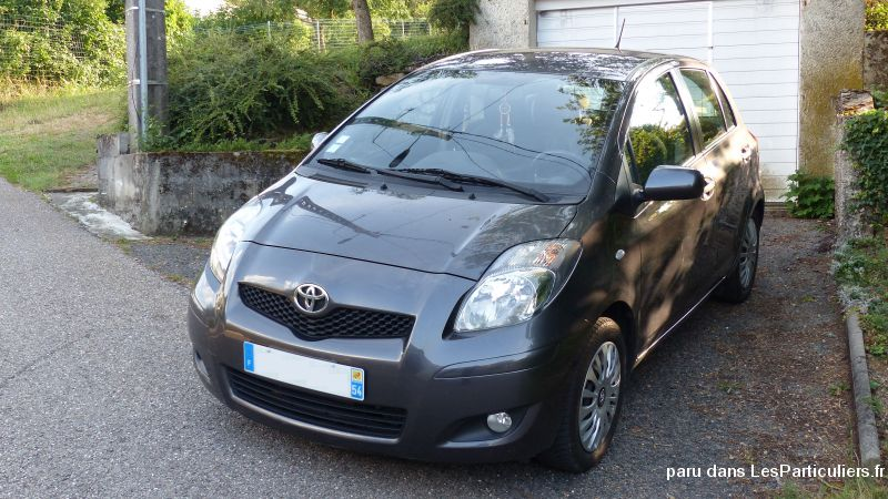 Toyota Yaris 2 - 90 D-4D CONFORT PACK 04/2010 Vehicules Voitures Meurthe-et-Moselle
