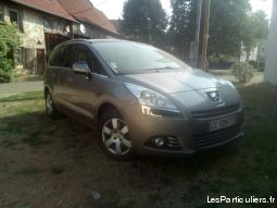 peugeot 5008 1. 6 - hdi 112 cv 53000 km 5 places vehicules voitures moselle