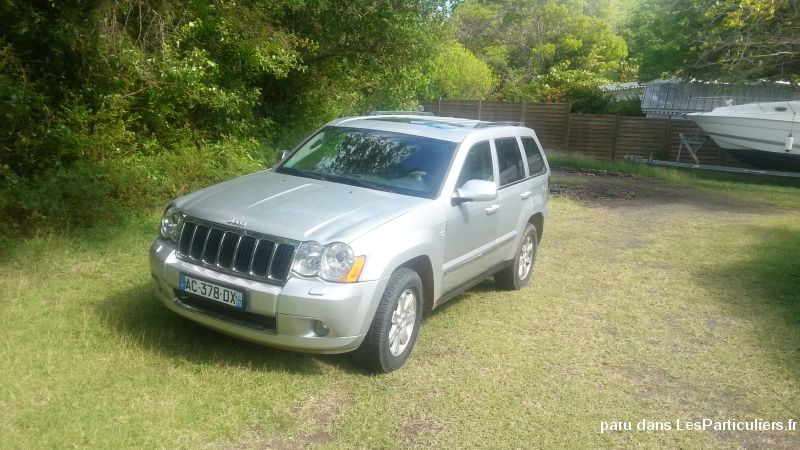 JEEP GRAND CHEROKEE LIMITED Vehicules Voitures Martinique