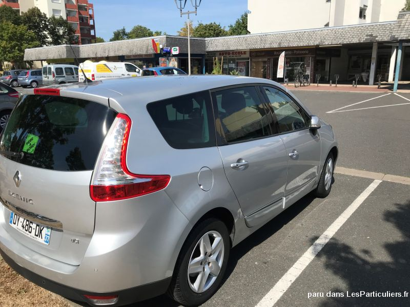 RENAULT Grand Scenic III Vehicules Voitures Indre-et-Loire