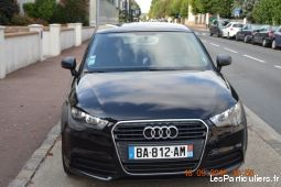 audi a1 attraction 1.6 tdi 105 ch 3 portes noire vehicules voitures yvelines