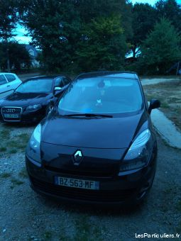 grand scenic renault 7 places vehicules voitures morbihan