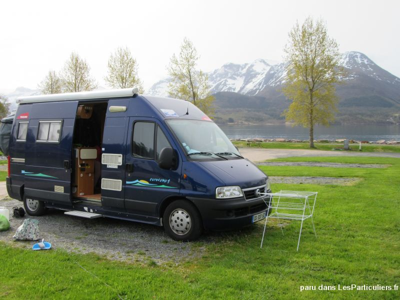 fourgon fiat ducato euro camp 1 vehicules caravanes camping car côtes-d'armor