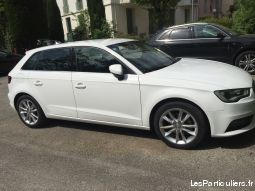 audi a3 tdi110 sportback 11/2015 ambiente advanced vehicules voitures alpes-maritimes