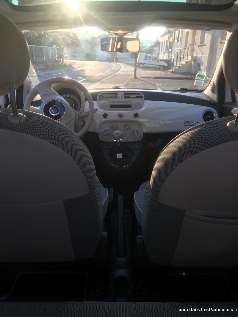 Fiat 500 Longe Vehicules Voitures Moselle