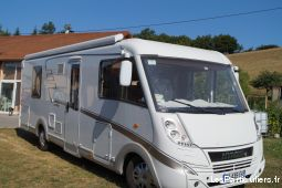 camping car hymer  vehicules caravanes camping car isère