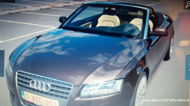 AUDI A5 CABRIOLET Vehicules Voitures Nord