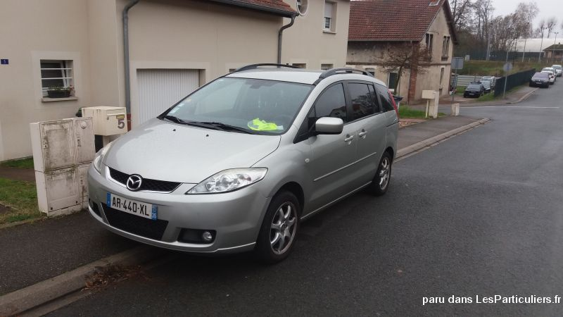 MAZDA 5 de 2007 Vehicules Voitures Moselle