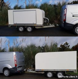 remorque isotherme charge utile 1400 kg vehicules utilitaires finistère