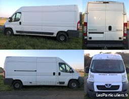 peugeot boxer l3h2 2.2hdi 120 vehicules utilitaires charente-maritime