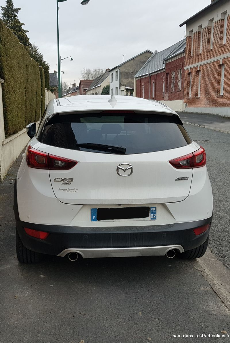 MAZDA CX-3 SKYACTIV-G 150 4WD SELECTION 2016 Vehicules Voitures Aisne