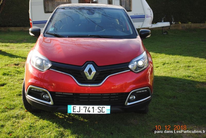 Renault Captur Rouge Vehicules Voitures Oise