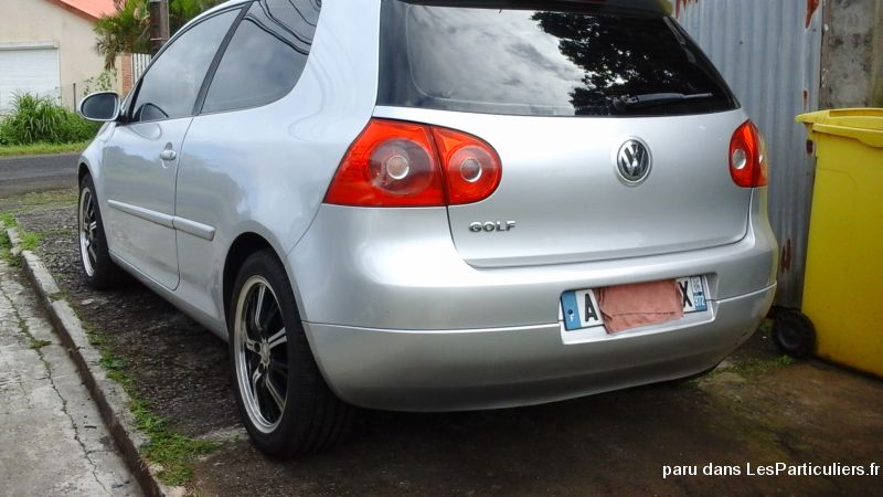 Golf 14c16v essence Vehicules Voitures Martinique