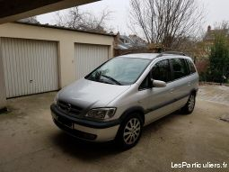 opel zafira elegance  2.2dti vehicules voitures somme