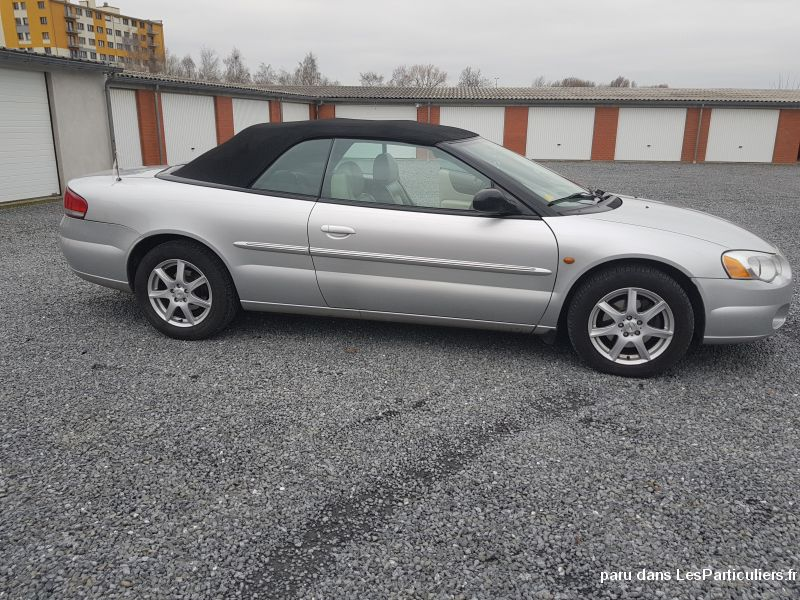 CHRYSLER SEBRING 2.7 i V6 24 v CONVERTIBLE LIMITED Vehicules Voitures Var
