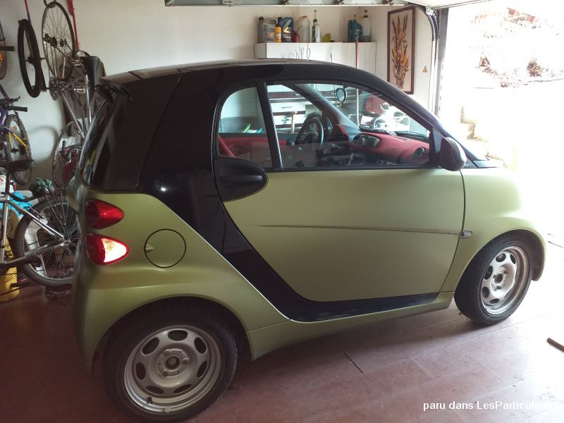 SMART Fortwo Coupe CDi Passion Softouch verte pomm Vehicules Voitures Meurthe-et-Moselle