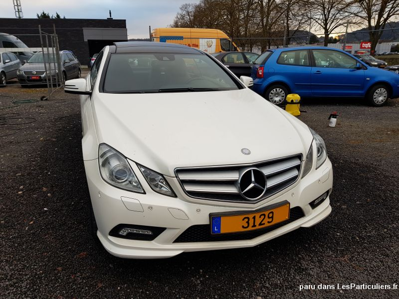 MERCEDES 350 E PACK AMG  Vehicules Voitures Moselle