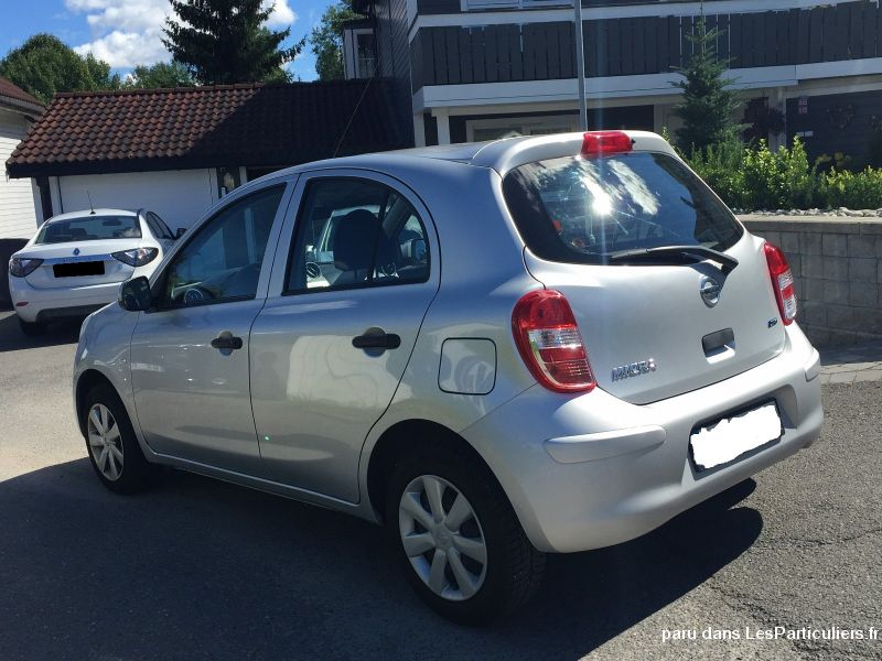 Nissan Micra Vehicules Voitures Alpes-Maritimes