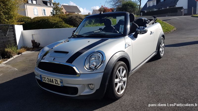 MINI CABRIOLET COOPER S  Vehicules Voitures Morbihan