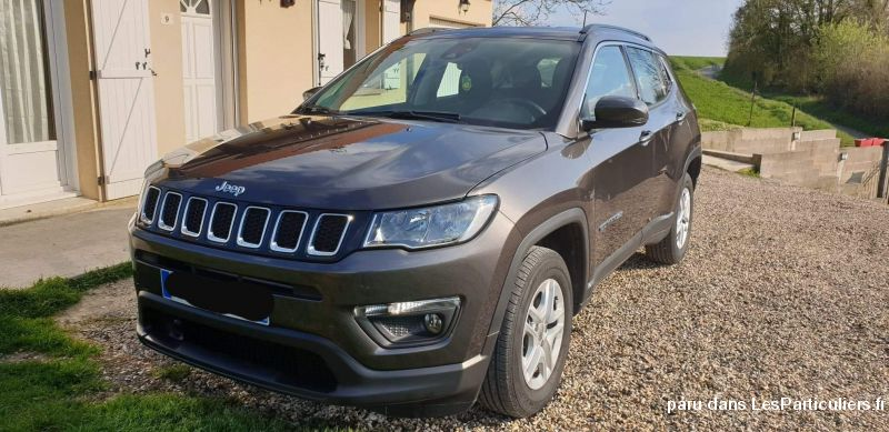 Jeep Compass longitude Vehicules Voitures Aisne