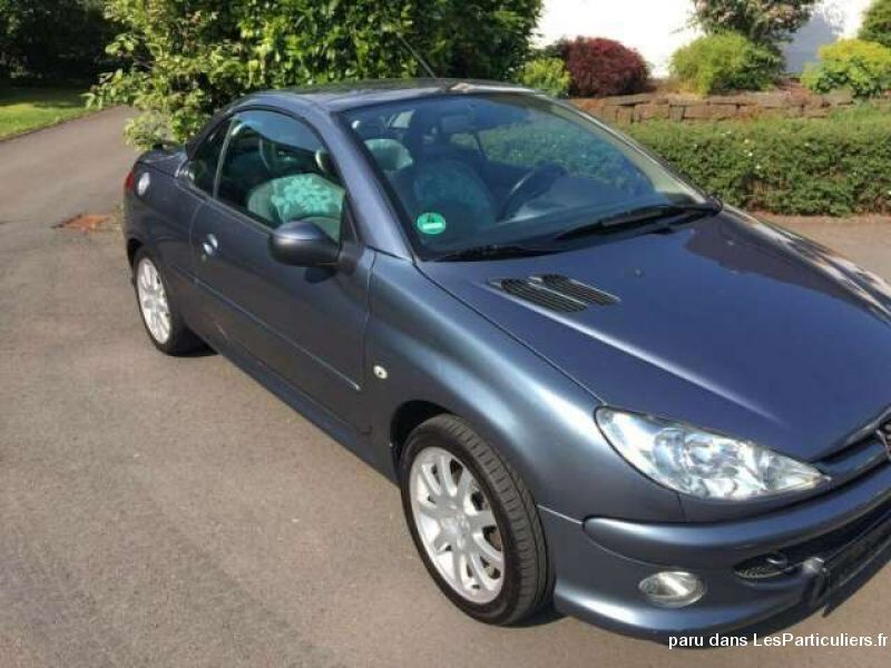 Peugeot 206 CC HDi FAP 110 Vehicules Voitures Oise