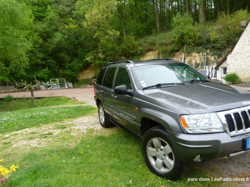 Jeep grand cherokee Vehicules Voitures Indre-et-Loire