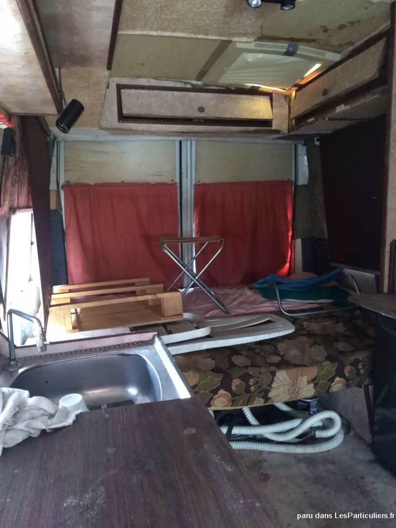 Camping car iveco dailly Vehicules Caravanes Camping Car Ain
