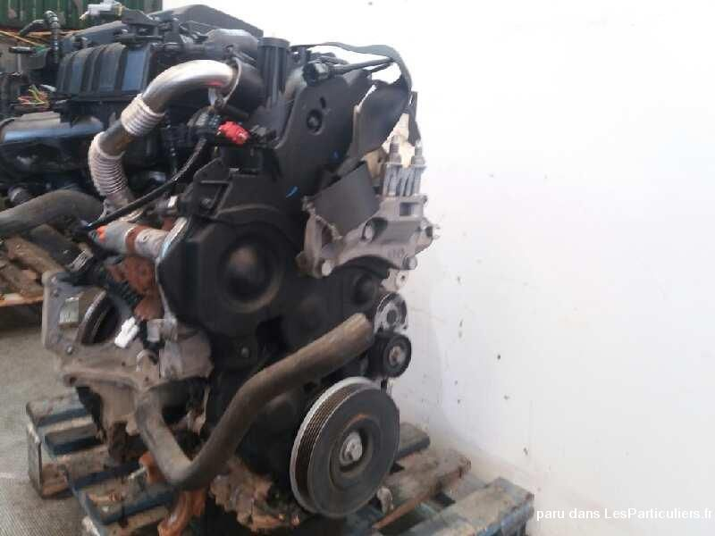 Moteur ford fiesta 6 - 1.4 tdci type f6jb 50 kw  Vehicules Pieces Detachees Accessoires Nord