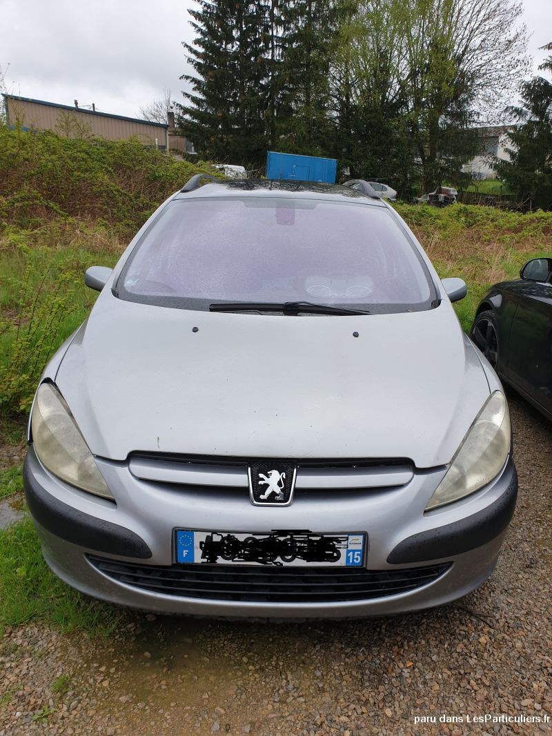 307 SW PACK 110 2L HDI 2004 Vehicules Voitures Cantal