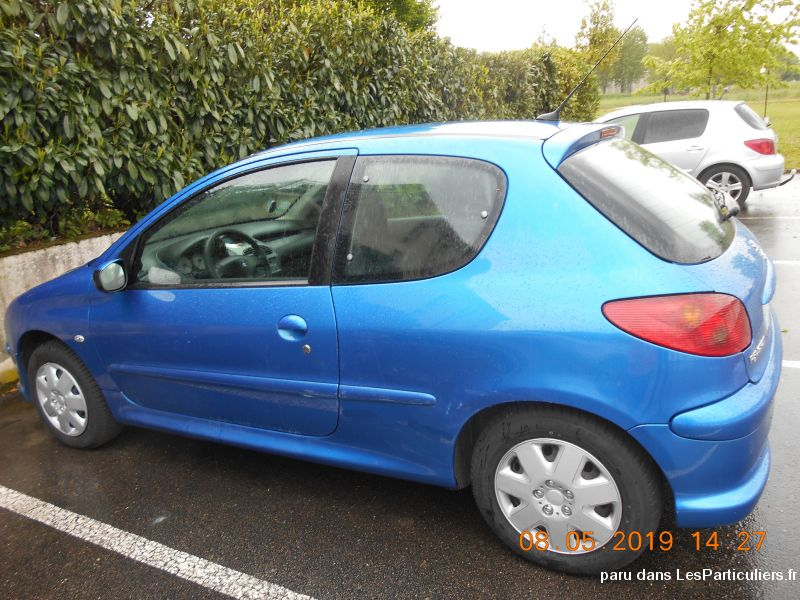 PEUGEOT 206 HDI 4CV 2007 Vehicules Voitures Côte-d'Or