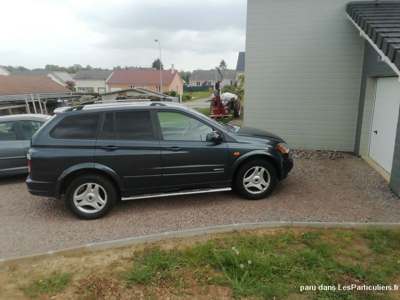 Ssangyong voiture Vehicules Voitures Vosges