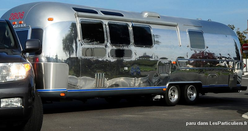Splendide AIRSTREAM d'exception Vehicules Caravanes Camping Car Alpes-Maritimes