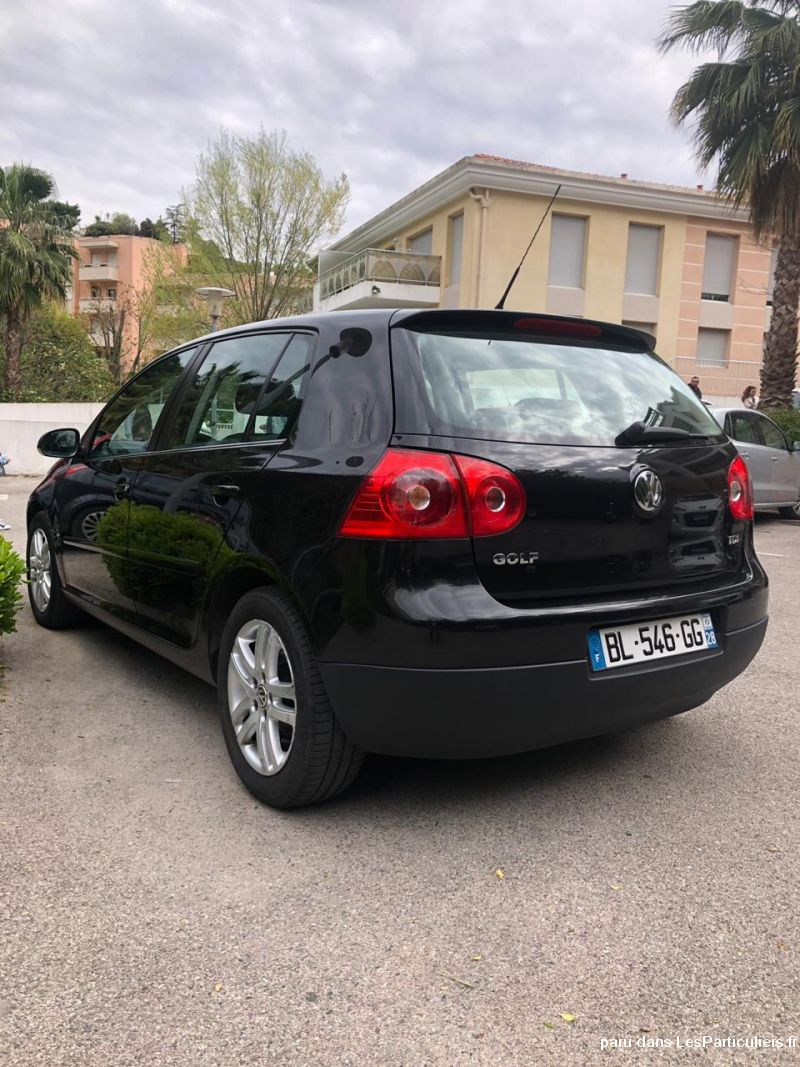 Golf 5 TDI 1.9L 105 CH 2008 225000 KM Vehicules Voitures Alpes-Maritimes
