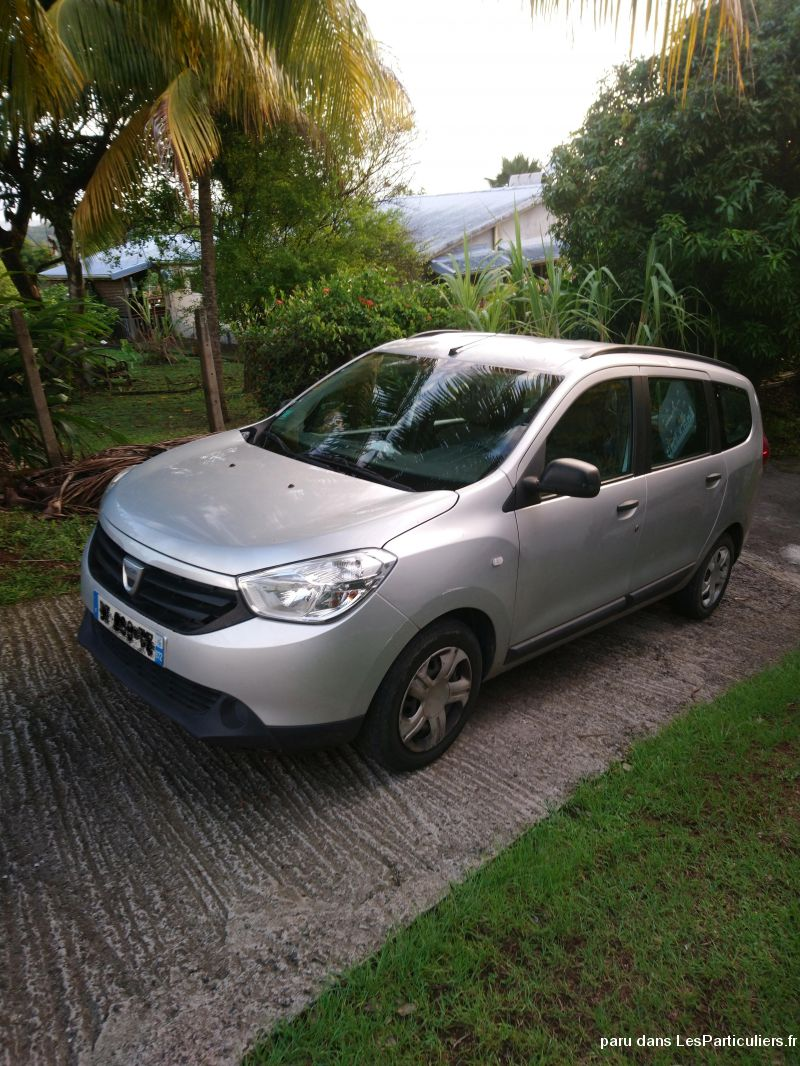 Lodgy Dacia 7 places  Vehicules Voitures Martinique