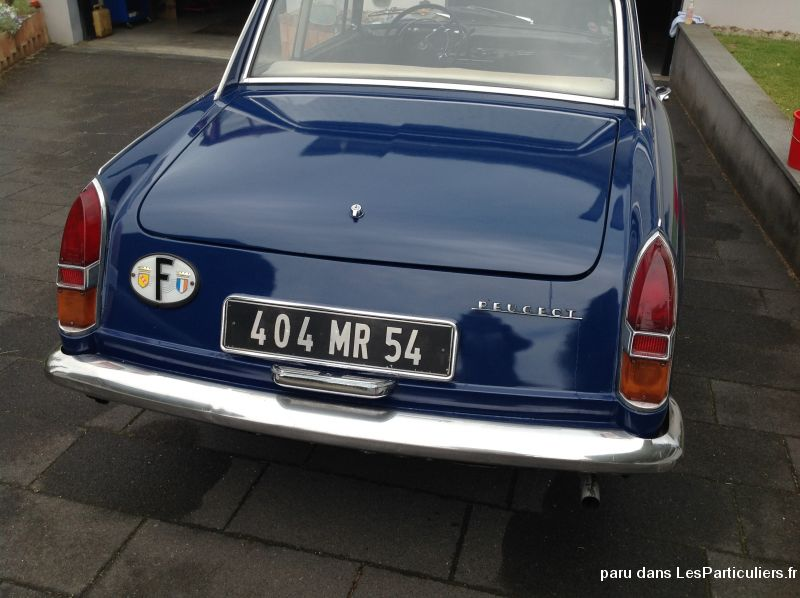 Peugeot 404 coupé  Vehicules Voitures Moselle