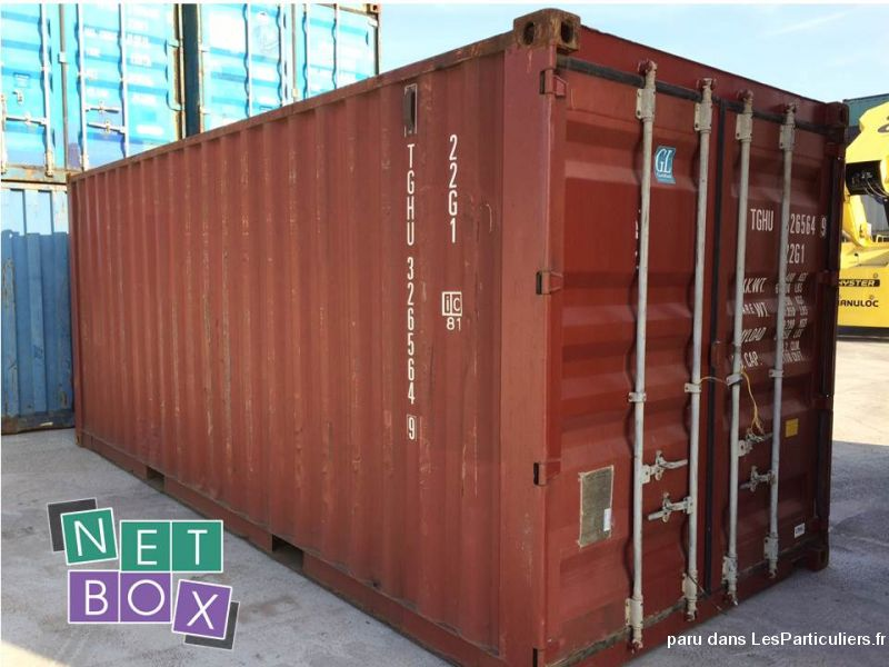 Container maritime d'occasion – 1330 €