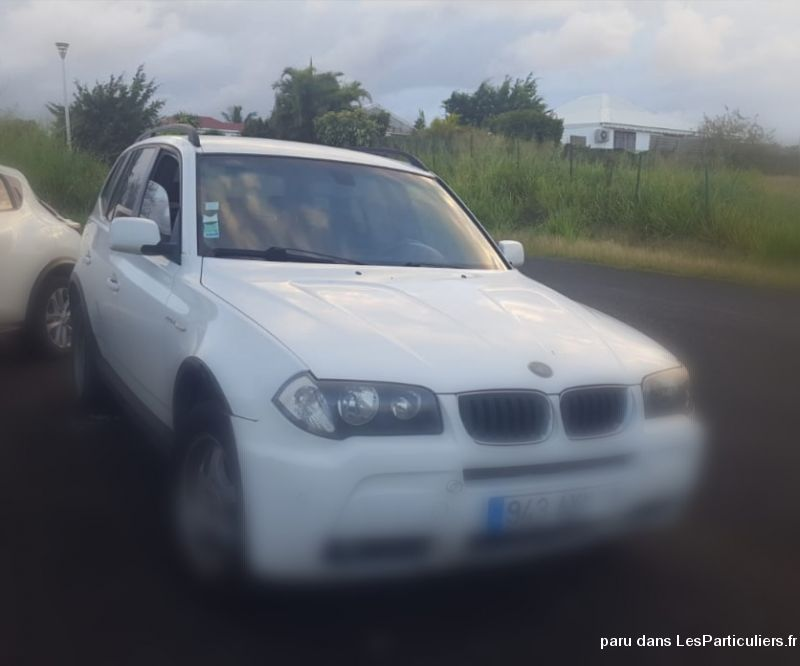 BMW x3  Vehicules Voitures Guadeloupe
