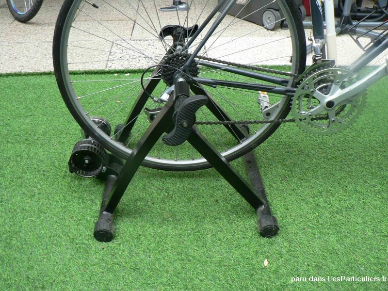HOME TRAINER VÉLO A ENERGIE CINETIQUE + bloc roue