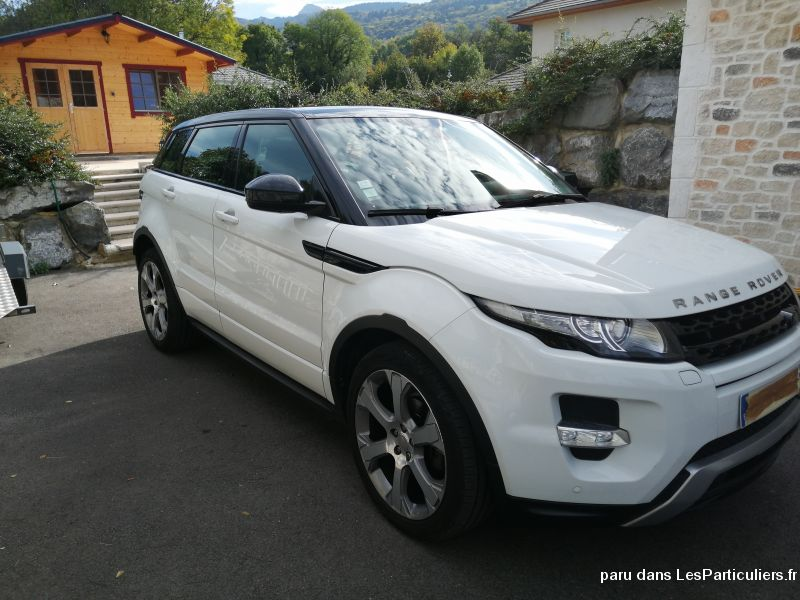 Land-Rover Range Rover Evoque TD4 Dynamic / cuir / TO