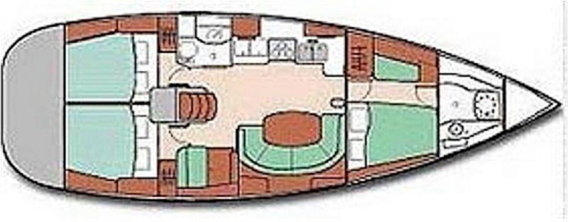 voilier beneteau oceanis 411 clipper de 2002 v u00e9hicules