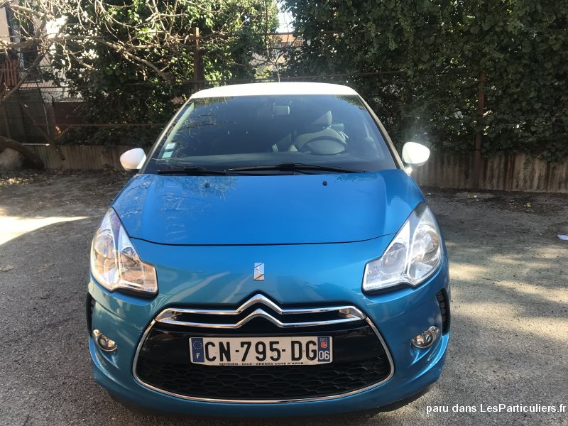 Citroën DS 3 HDi Vehicules Voitures Alpes-Maritimes