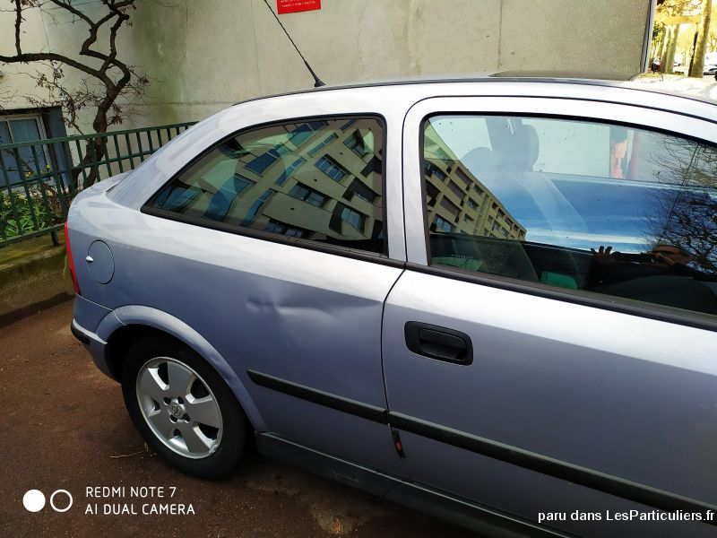 Opel Astra  1L6. 16  année 2002 Vehicules Voitures Val-de-Marne