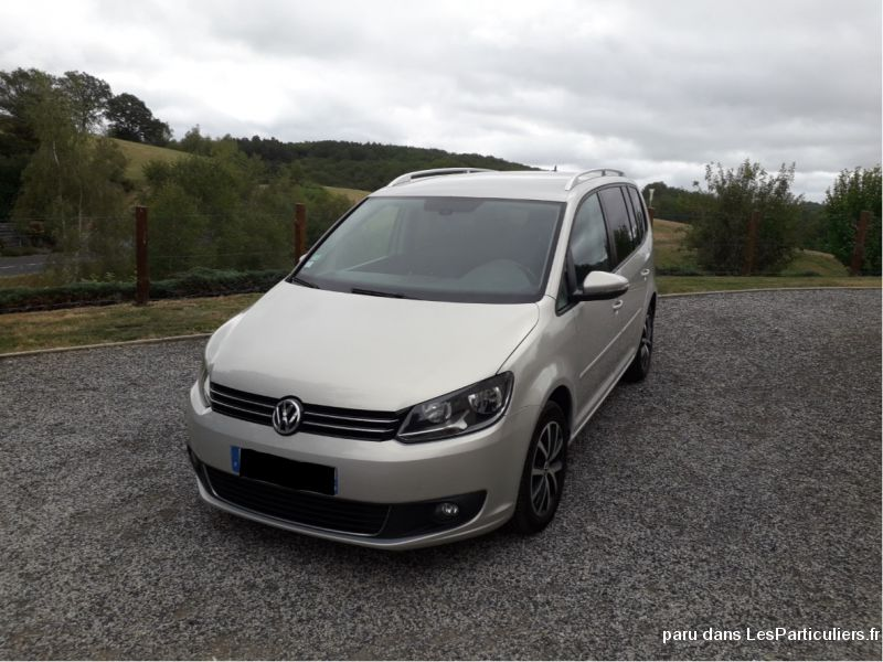 TOURANII 2.0 TDI 140 BLUEMOTION CONFORTLINE DSG Vehicules Voitures Cantal
