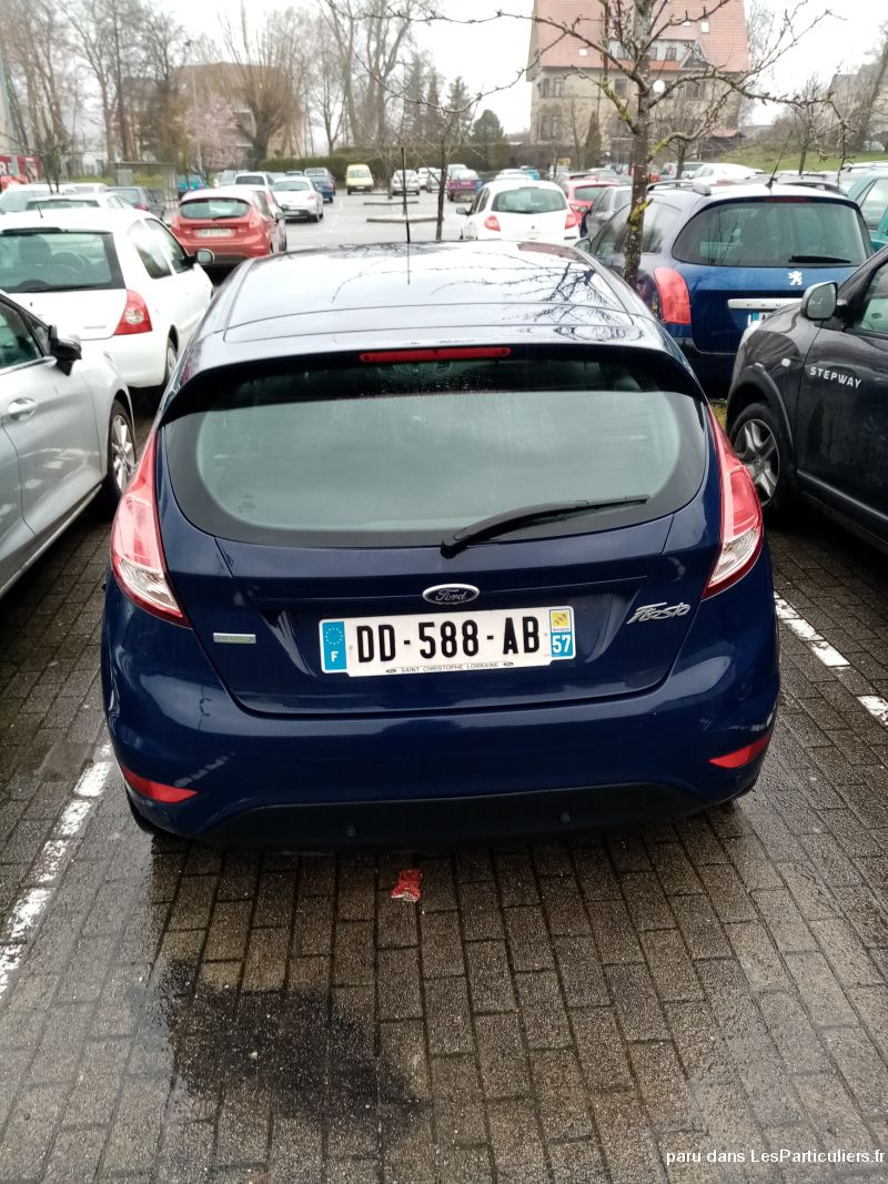FORD FIESTA 1.0 ECOBOOST 100 CV TREND Vehicules Voitures Meurthe-et-Moselle