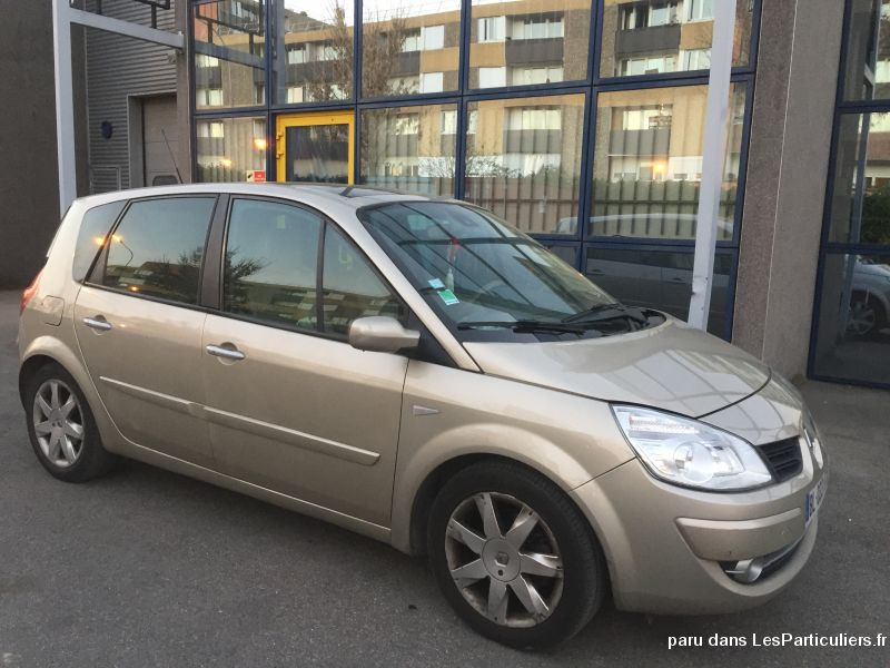 Renault Scenic Vehicules Voitures Val-d'Oise
