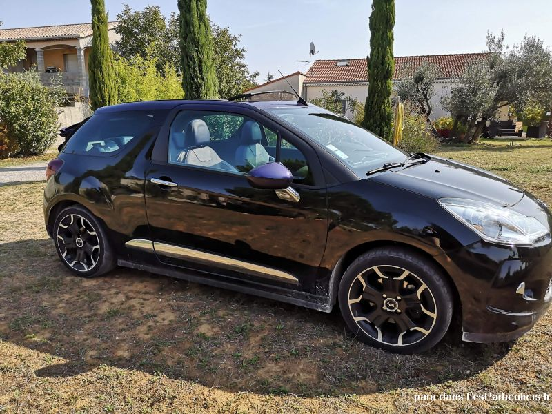 DS3 CABRIO 155 cv SPORT CHIC 1.6 THP 16V Vehicules Voitures Drôme