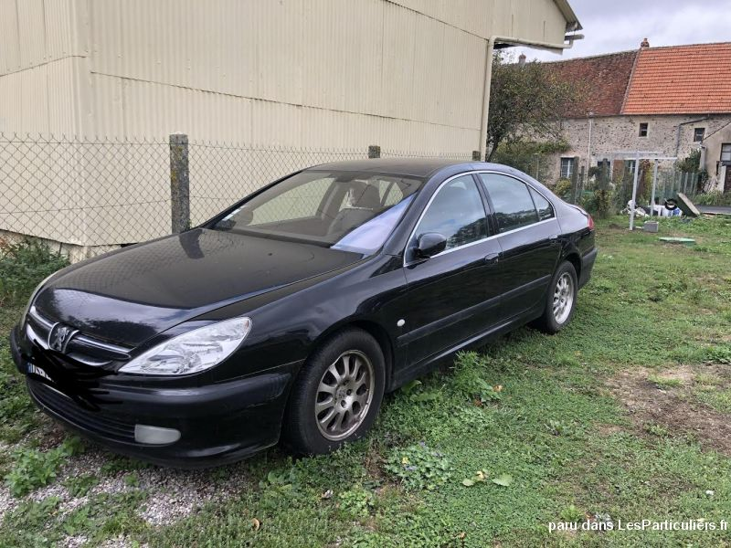 Peugeot 607 2.2 hdi pack Vehicules Voitures Aisne