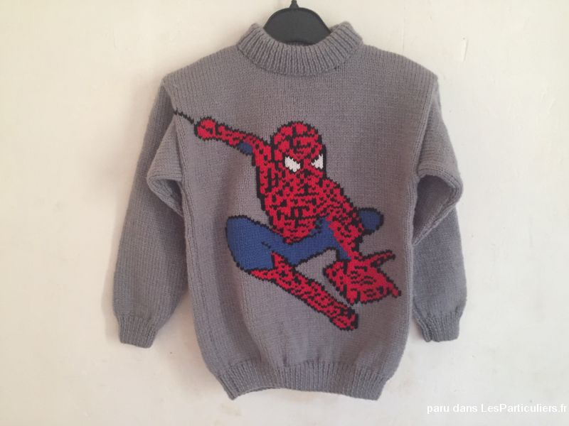 PULL SPIDERMAN 8 ANS