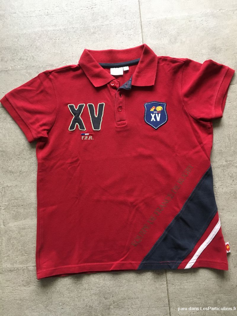 Polo rugby FFR 11 / 12 ans XV de France